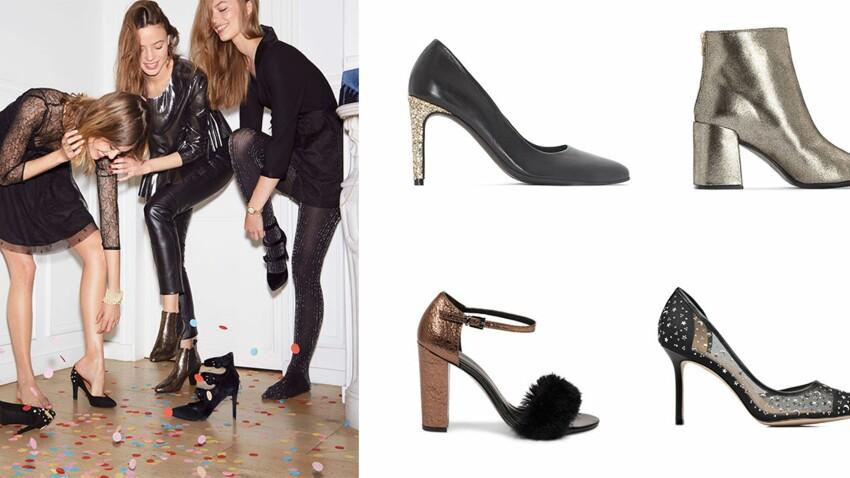 Chaussures de soirée : 30 modèles canons à chausser pour les fêtes
