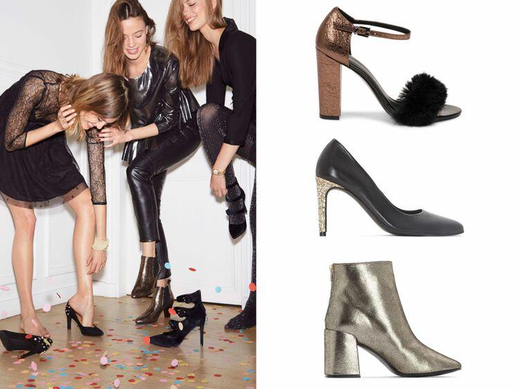 fb3ad8aeed04be Chaussures de soirée : 30 modèles canons à chausser pour les fêtes : Femme  Actuelle Le MAG