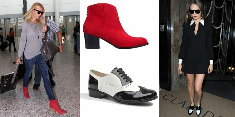 Chaussures de la saison : on copie les stars