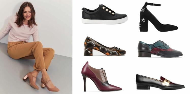 Escarpins, bottines, baskets et derbies : toutes les nouveautés à chausser à la rentrée