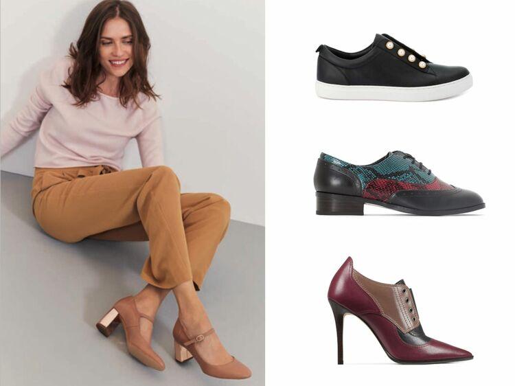 1ec92777e5bc82 Escarpins, bottines, baskets et derbies : toutes les nouveautés à chausser  à la rentrée : Femme Actuelle Le MAG