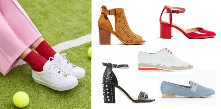 30 chaussures parfaites pour le printemps !