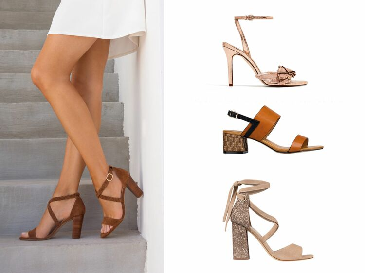 adff4b29e64 Chaussures tendance   nos modèles à talons préférés pour l été   Femme  Actuelle Le MAG