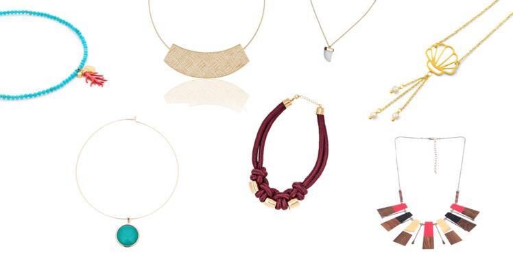 Shoppings colliers d'été : quels modèles choisir et comment les porter ?
