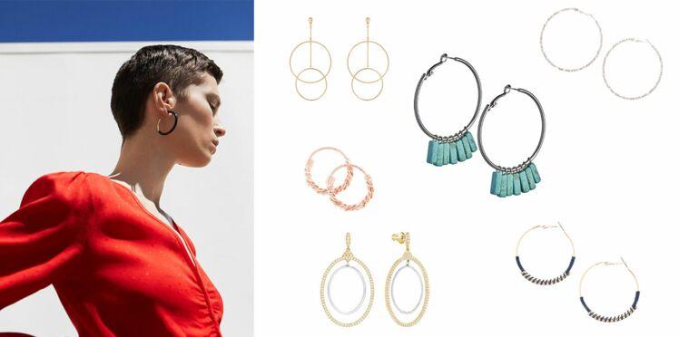 Tendance - Nos modèles préférés de créoles : le bijou à avoir absolument pour la rentrée