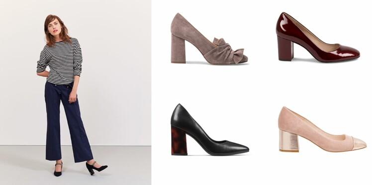 848335b8589f4 15 modèles d escarpins confortables pour aller travailler (sans avoir mal  aux pieds!