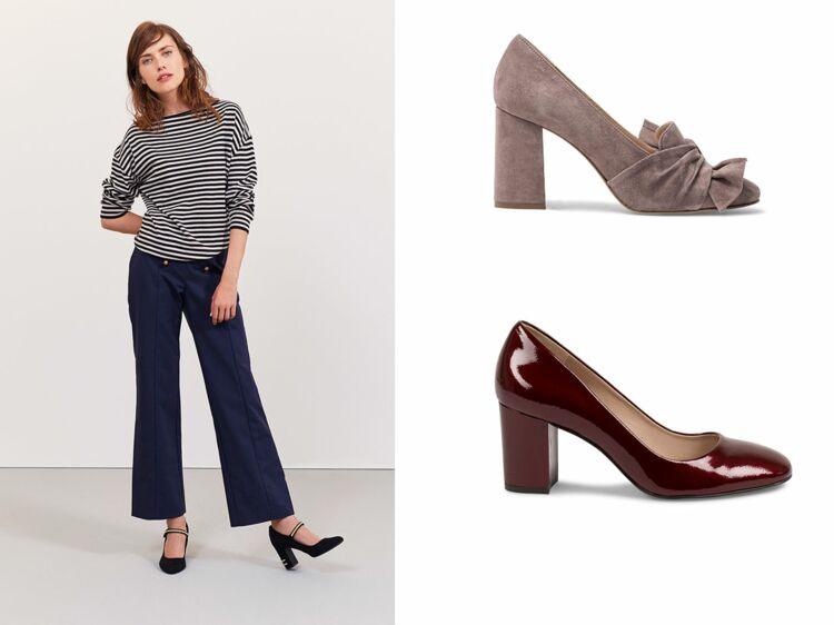 15 modèles d escarpins confortables pour aller travailler (sans avoir mal  aux pieds!)   Femme Actuelle Le MAG b1226ada4e0e