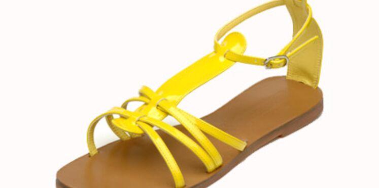 Le jaune s'invite à nos pieds