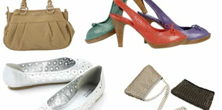 Le retour des sacs et chaussures à trous