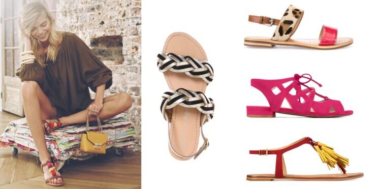 8e50e69fb61881 Nu-pieds : top 50 des modèles tendance : Femme Actuelle Le MAG