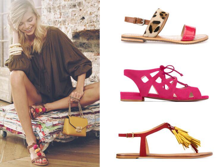 cc1b4a5edc46 Nu-pieds : top 50 des modèles tendance : Femme Actuelle Le MAG