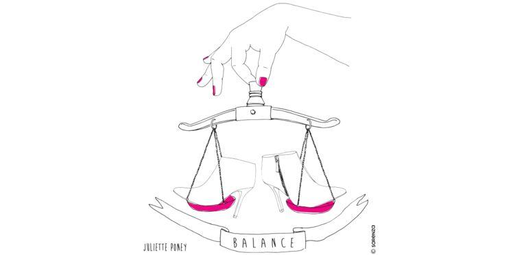 """Sarenza et l'illustratrice Juliette Poney vous présentent votre """"shoesroscope"""" 2017 !"""