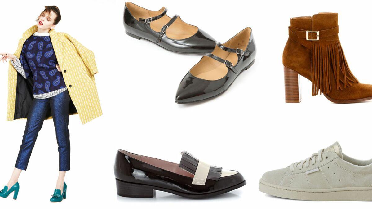 30 chaussures pour l'automne : Femme Actuelle Le MAG