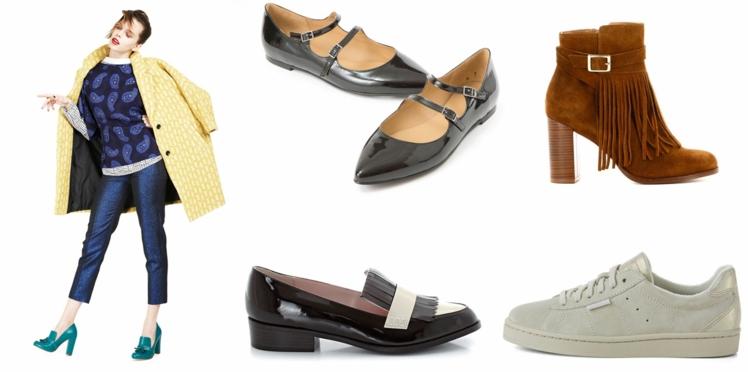 30 chaussures pour l'automne