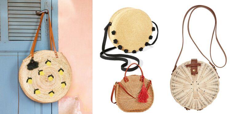 Panier rond, ou le sac star de notre été