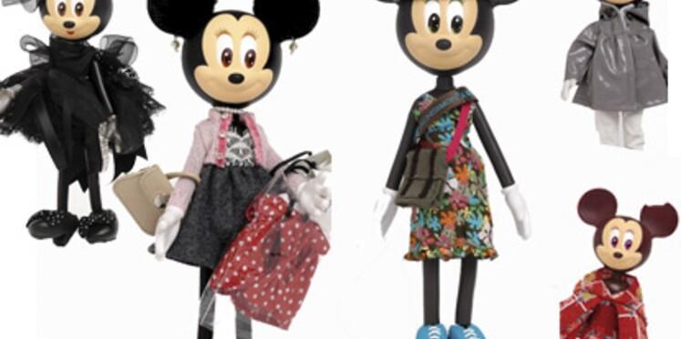 Minnie relookée par 80 créateurs
