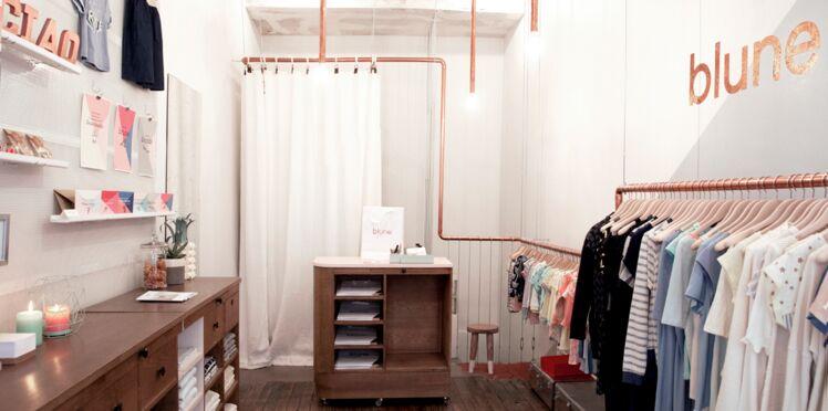 Blune ouvre sa 1ère boutique