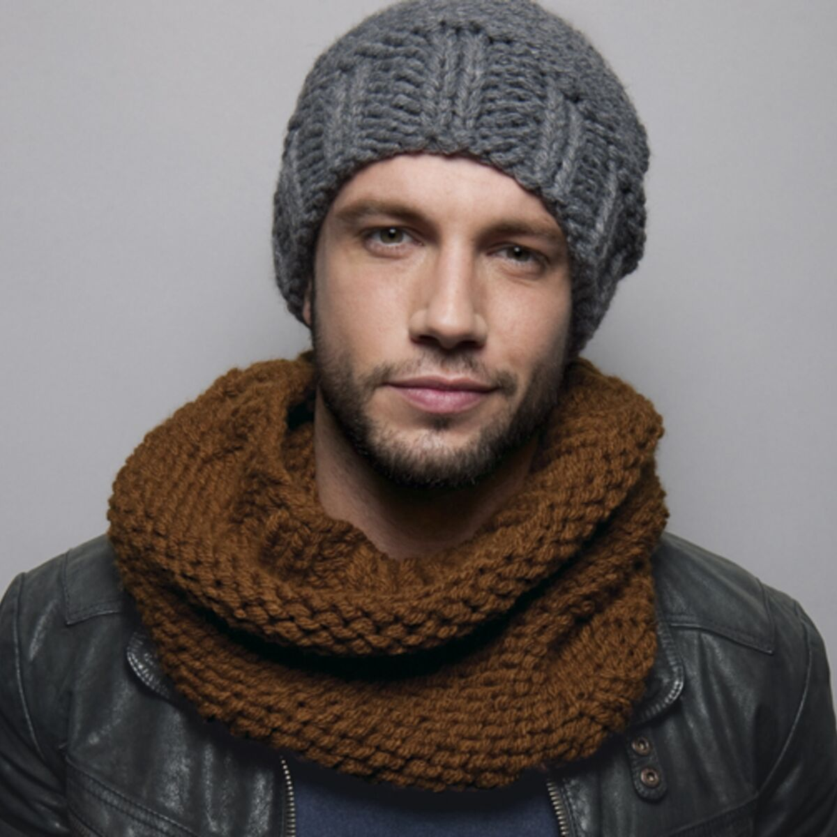 bonnet homme a tricoter soi meme