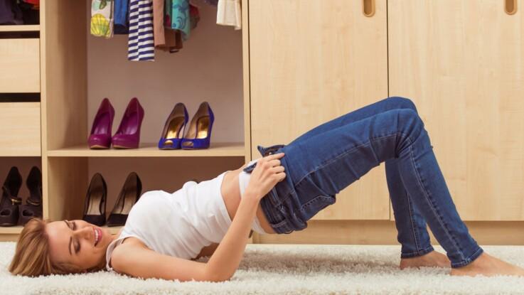 Comment enfiler un jean trop petit quand on a grossi ?