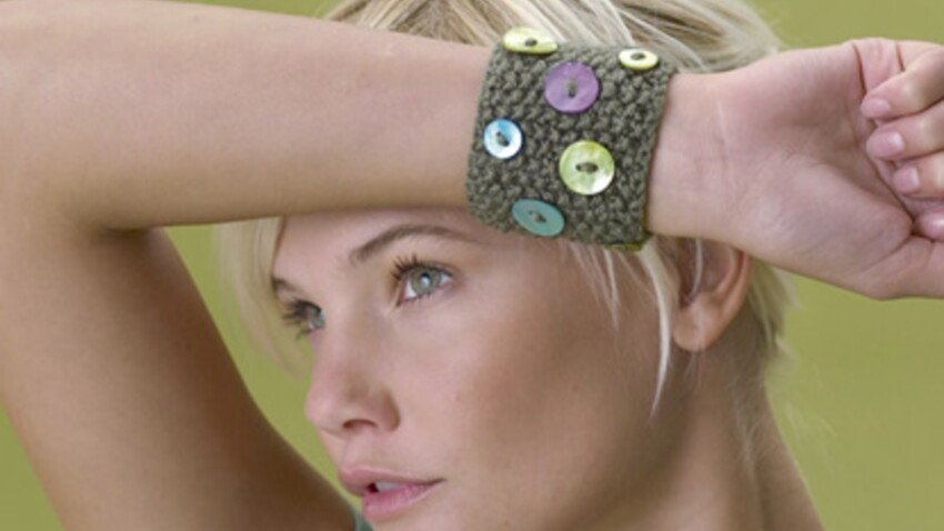 """Tricot : le bracelet """"nature"""""""