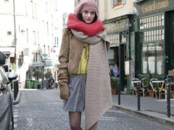 76d330ca67e1 L écharpe ajourée au crochet   Femme Actuelle Le MAG