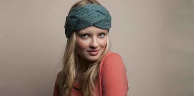 Un bandeau à tricoter