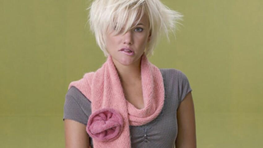Ma jolie écharpe tricotée