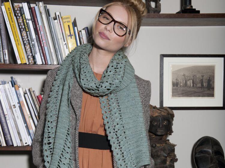eccf940ed5935 Une écharpe au crochet - Ce qu il vous faut pour tricoter.