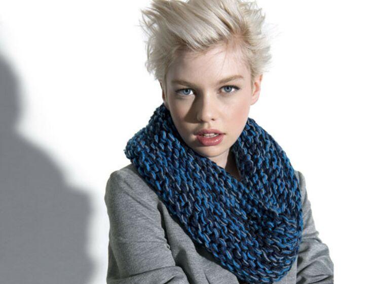 1449b3a84de Un snood à tricoter - Dimensions et qualité   Femme Actuelle Le MAG
