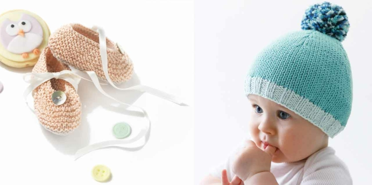 Tricot bébé : layettes faciles à réaliser