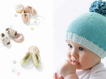 Tricot bébé   un poncho facile   Femme Actuelle Le MAG 2430e051dcc