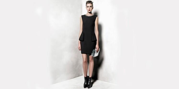 25fb71f3247 Comment booster sa petite robe noire pour les fêtes     Femme ...