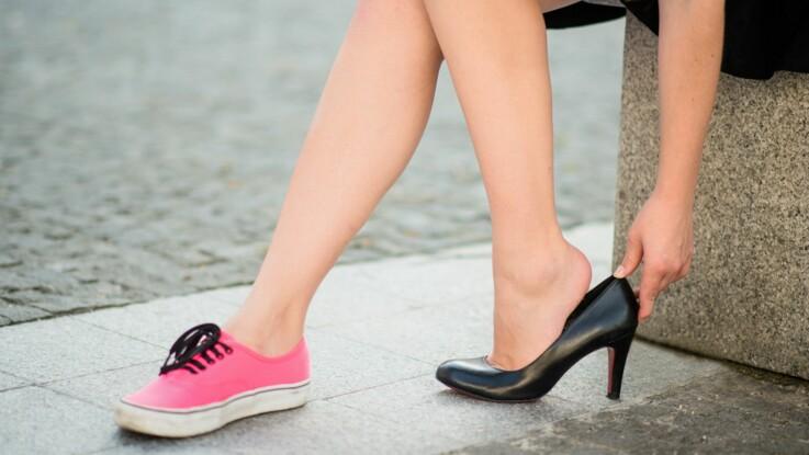 Vidéo - Découvrez l'astuce toute simple pour ne pas avoir mal aux pieds en talons