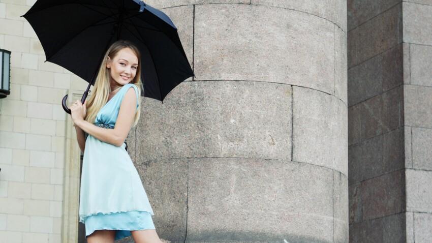 Tenue de mariage : 5 astuces de dernière minute en cas de pluie