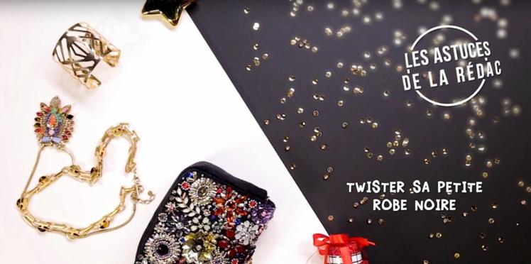 Comment twister sa petite robe noire pour les fêtes ? Toutes nos astuces mode en vidéo !