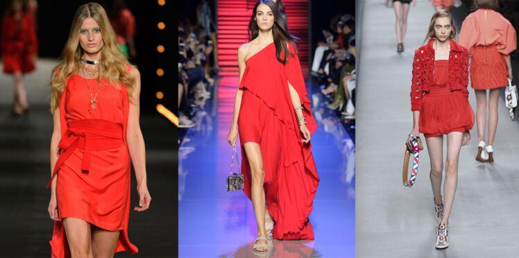 Comment bien porter la robe rouge ?