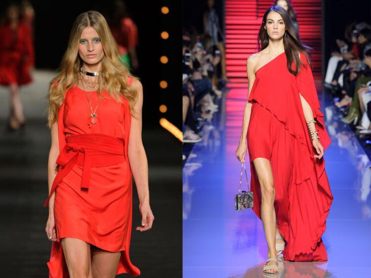 da22f5461c Comment bien porter la robe rouge ? : Femme Actuelle Le MAG