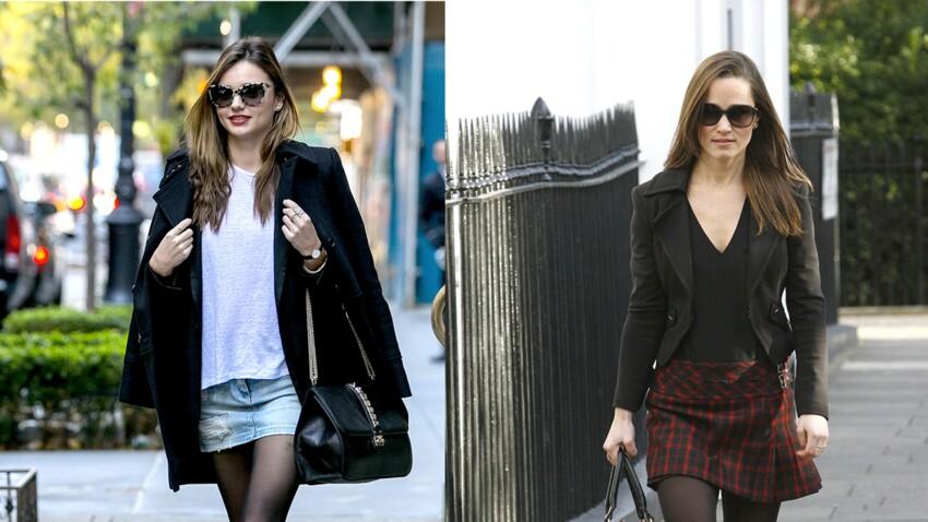 Comment porter la jupe en hiver en 10 looks