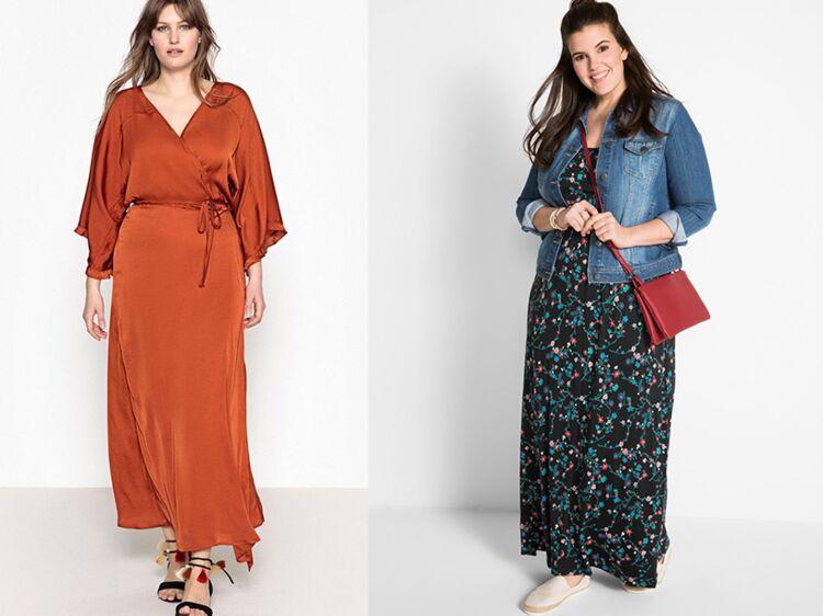 20f166114c4 Robe longue grande taille   comment porter la robe longue quand on est  ronde     Femme Actuelle Le MAG