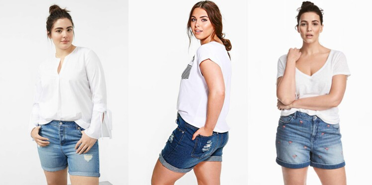 Comment porter le short en jean quand on est ronde ?
