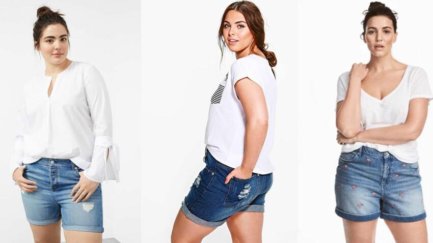Comment porter le short en jean quand on est ronde ?
