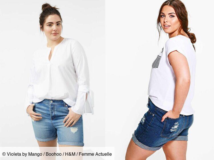 Comment porter le short en jean quand on est ronde ? : Femme