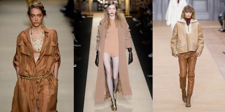68e686aa3325a Couleur camel   comment la porter     Femme Actuelle Le MAG