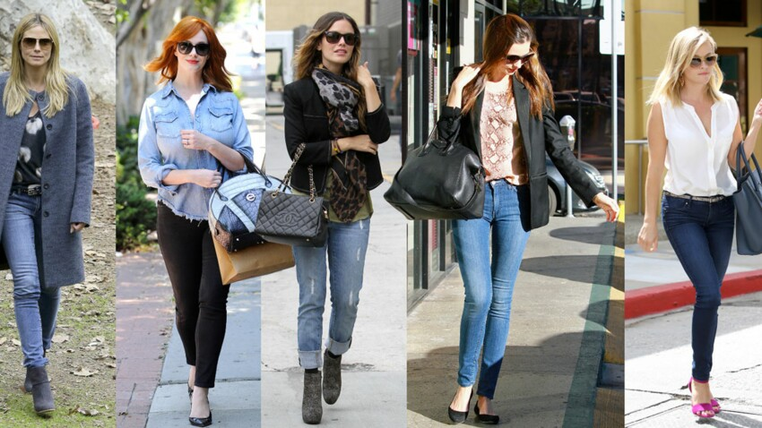 Jeans : conseils morpho pour les porter comme les stars