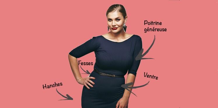 Mode ronde   5 astuces pour bien choisir vos vêtements selon vos formes c1883abf0825