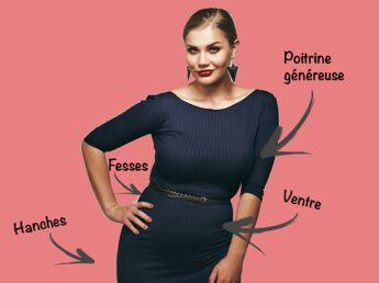 Mode ronde   5 astuces pour bien choisir vos vêtements selon vos formes 47827c51253c