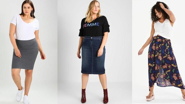 Mode ronde : quelle jupe porter pour s'affiner ? : Femme