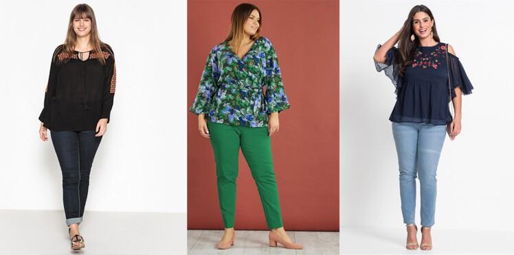 Mode ronde : quels tops porter pour s'affiner ? Conseils et shopping malins !