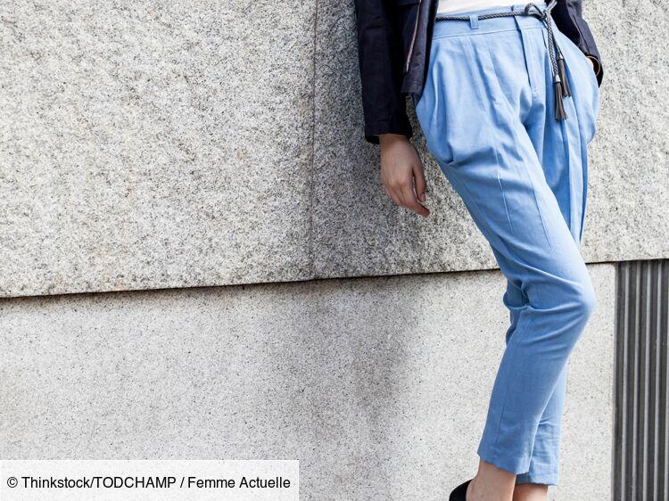 Comment porter le pantalon carotte ? : Femme Actuelle Le MAG