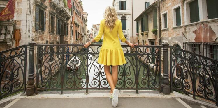 Robe jaune : on ose !